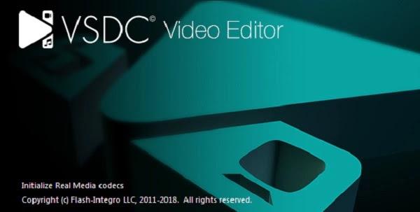VSDC Software editing