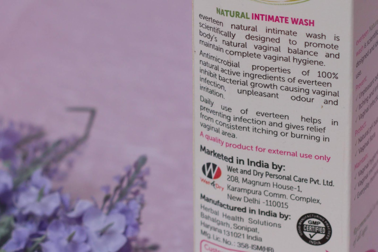 Everteen Natural Intimate Wash Company