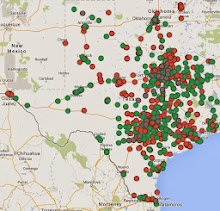 THE TEXAS BBQ MAP