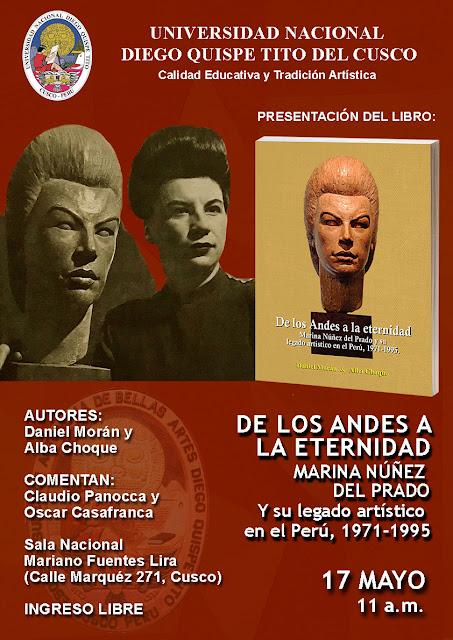"""""""De los Andes a la Eternidad. Marina Núñez del Prado y su legado artístico en el Perú 1971-1995 - ALBA CHOQUE PORRAS"""