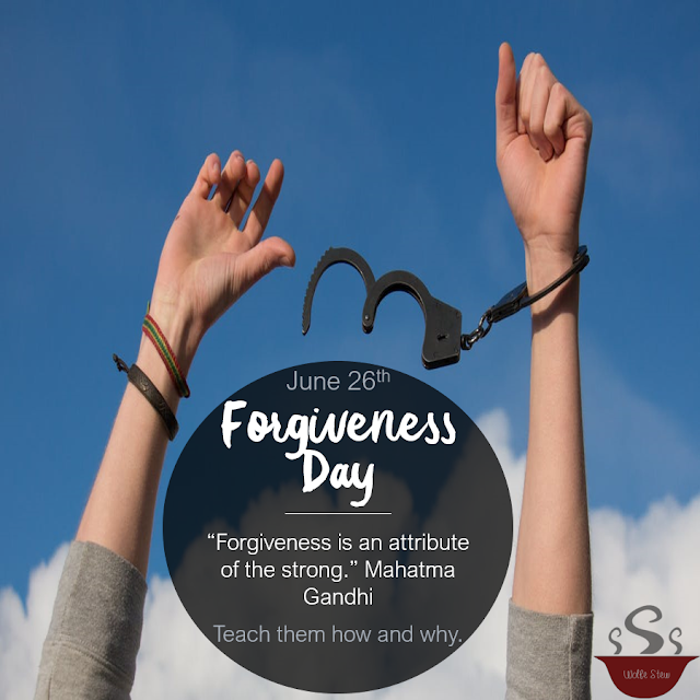 Teach your learners about forgiveness, Biblically, scientifically, and systematically..
