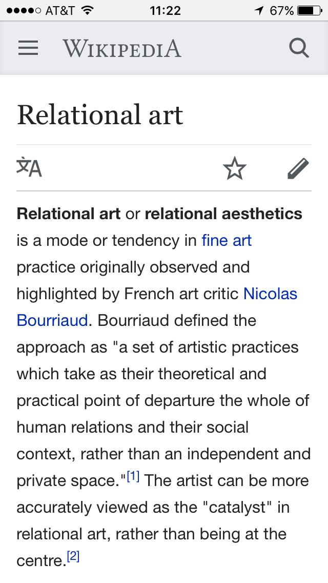 Relational Aesthetics Pdf