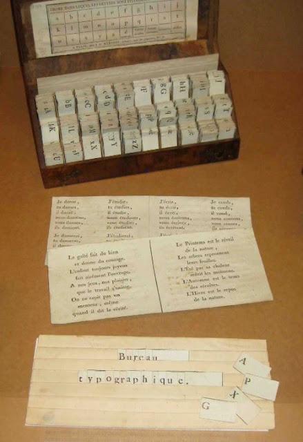Bureau typographique Dumas, 1801 (CANOPE)