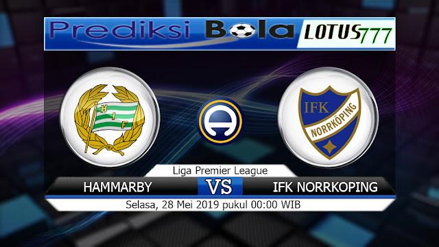 Prediksi Hammarby vs IFK Norrkoping  Selasa 28 Mei 2019