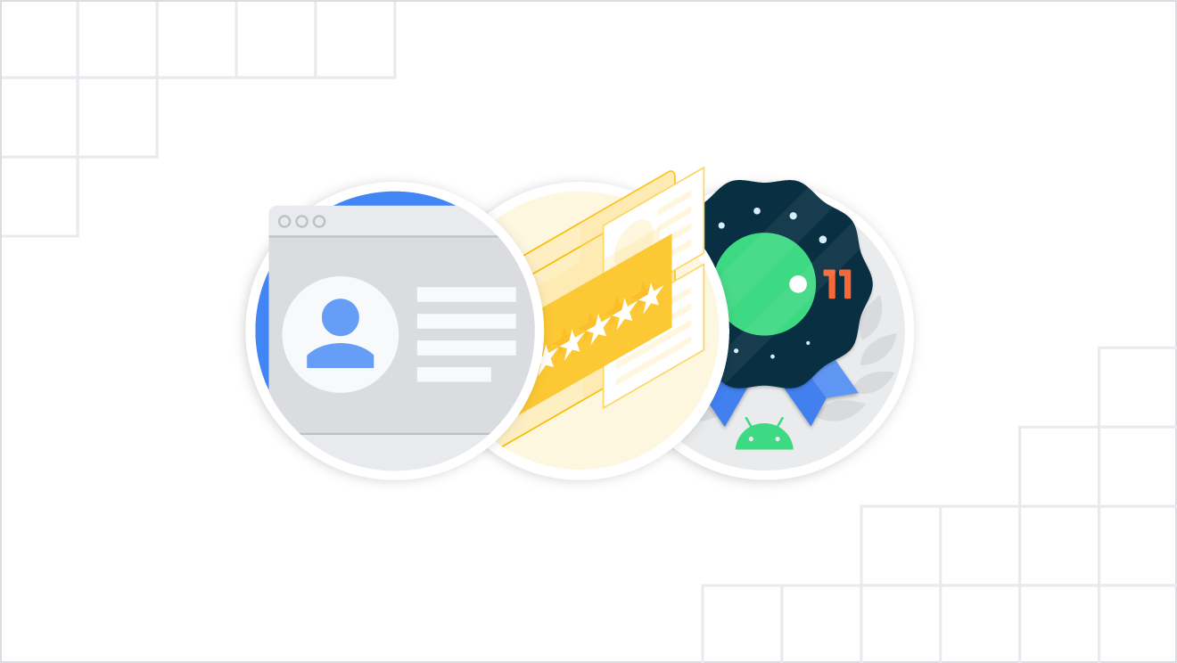 3 examples of badges you can earn