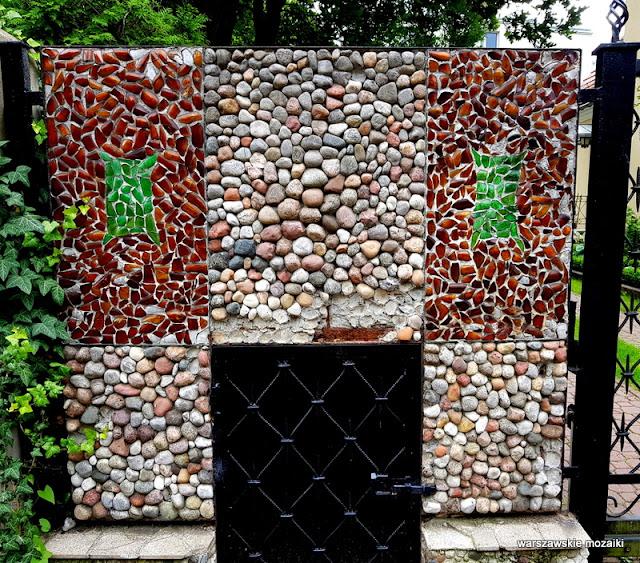 mozaika Warszawa Warsaw Żoliborz ulice Żoliborza wille architektura architecture