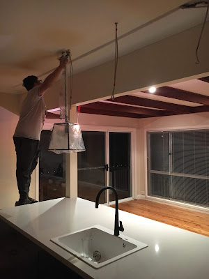 Choosing Pendant Lights for our Kitchen Island