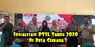 PTSL Tahun 2020 Desa Cindaga