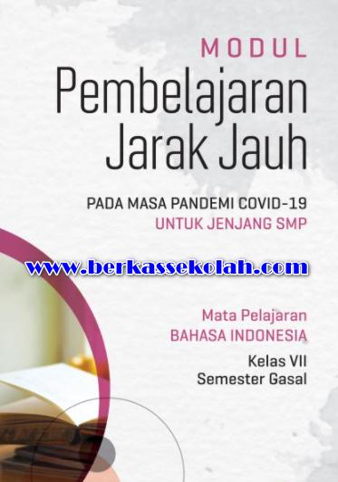 Modul PJJ Bahasa Indonesia SMP Kelas 7 Semester Gasal (1)