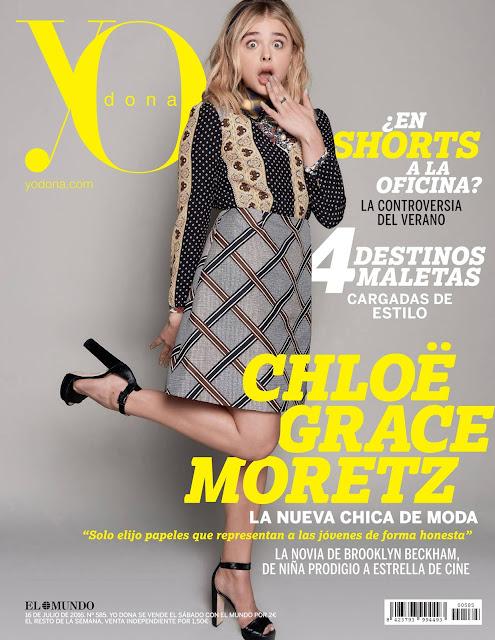Actress, Model, @ Chloe Moretz - YO DONA Magazine July 2016