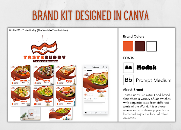 How to build a brand in canva ?