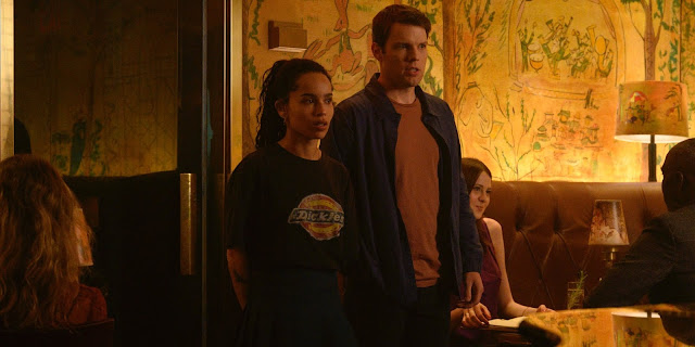 Zoë Kravitz Jake Lacy Veronica West Sarah Kucserka | Nick Hornby High Fidelity on Hulu