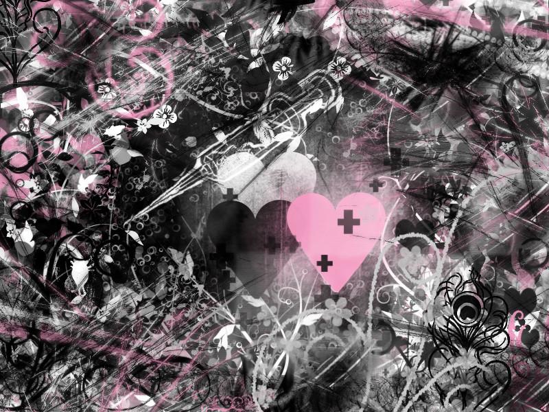 pink and black wallpaper desktop |Funny & Amazing Images