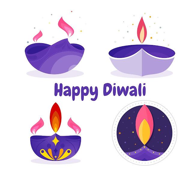 creative diwali cards