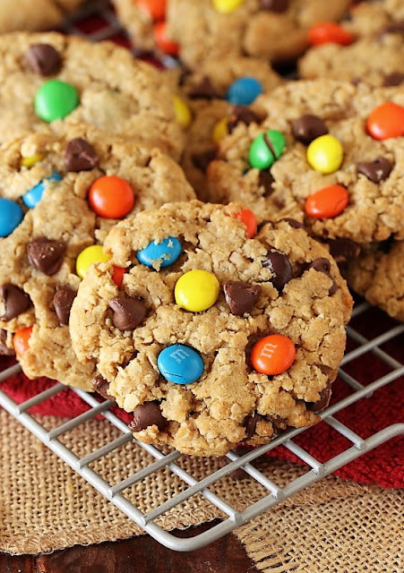 The BEST Monster Cookies Recipe Image