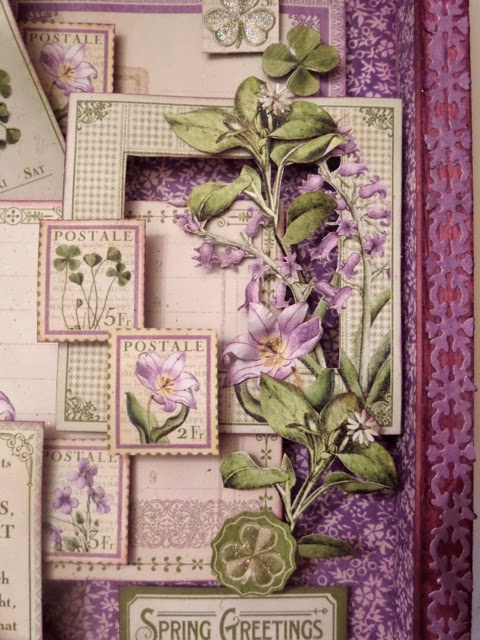 Time to Flourish Altered Frame 6 Clare Charvill Jones Crafts DT Project Dec 14 Graphic 45