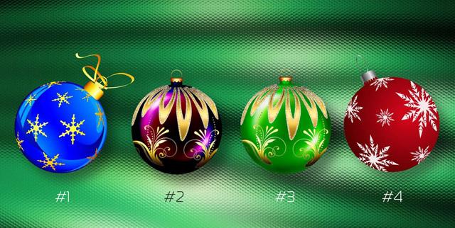 В канун Нового Года выберите шар и узнайте когда сбудется ваше заветное желание