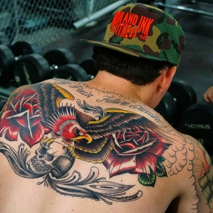 Awesome back tattoos