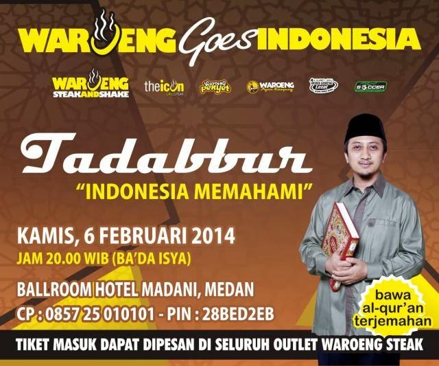 Waroeng Goes Indonesia (WGI) di Medan