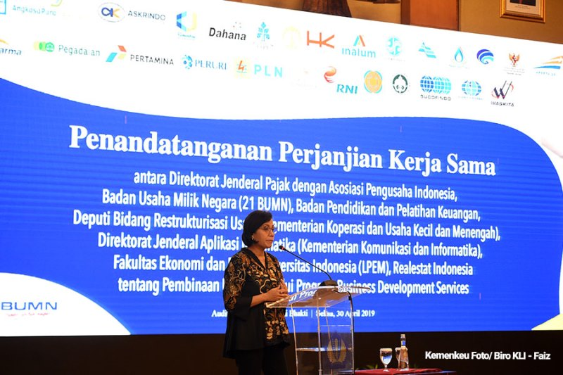 "DJP Kerjasama Dengan 27 Institusi Bina UMKM ""Program Business Development Services"""