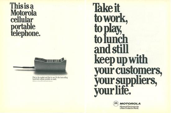 Motorola DynaTAC 8000X adv.