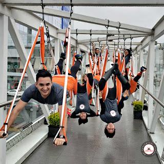 yoga aereo, aeroyoga, air yoga, aerial yoga, yoga aerea, formacion, certificacion, comentarios, criticas, testimonios, aeropilates, pilates aereo