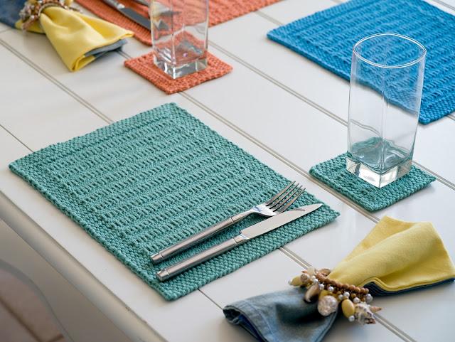 Somertide Placemats by Moira Ravenscroft, Wyndlestraw Designs