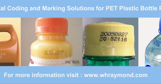 Industrial Coding and Marking Solutions for PET Plastic Bottle Printing
