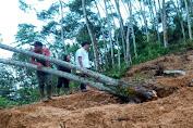 Ditreskrimsus Polda Banten Amankan 5 Tersangka Penambang Liar di Gunung Liman