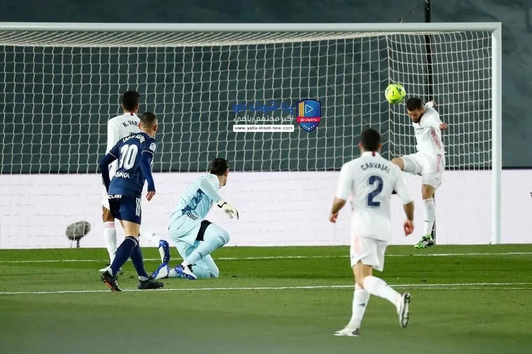 تقرير مباراة ريال مدريد و أتالانتا دوري ابطال اوروبا