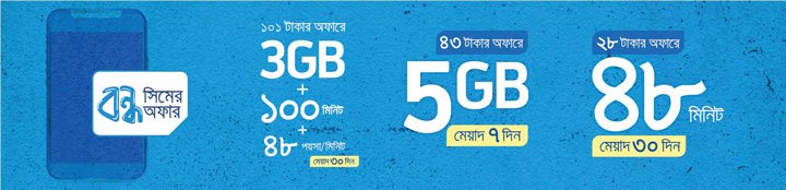 GP Bondho SIM Powerload Offer