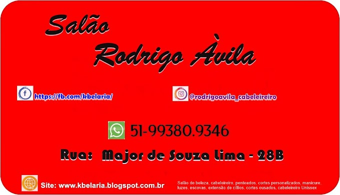 Cabeleireiro Sapucaia do Sul, Rodrigo Àvila