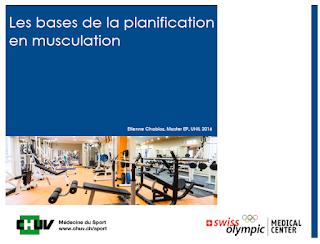 Les bases de la planification en musculation PDF