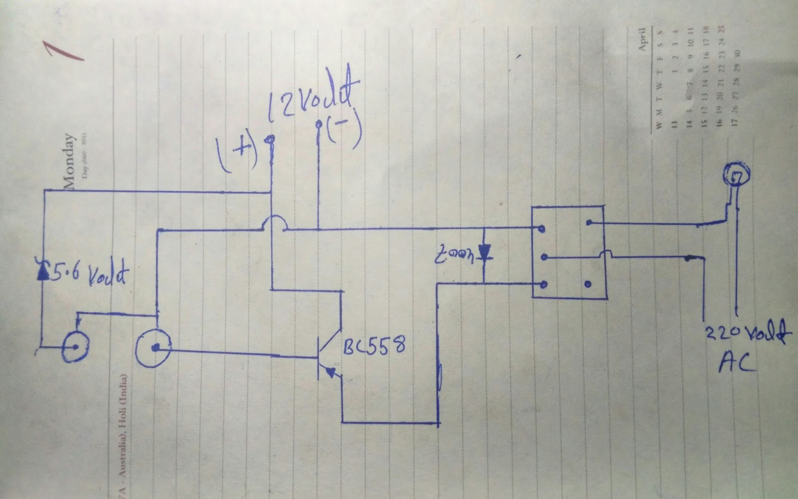 how to make push on push off Switch circuit using only Relay - Rk ...