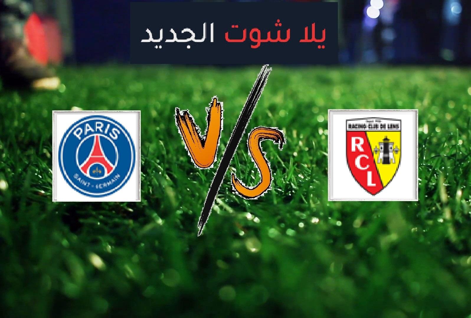 انتهت المباراة بفوز لانس على باريس سان جيرمان بهدف دون رد في الدوري الفرنسي