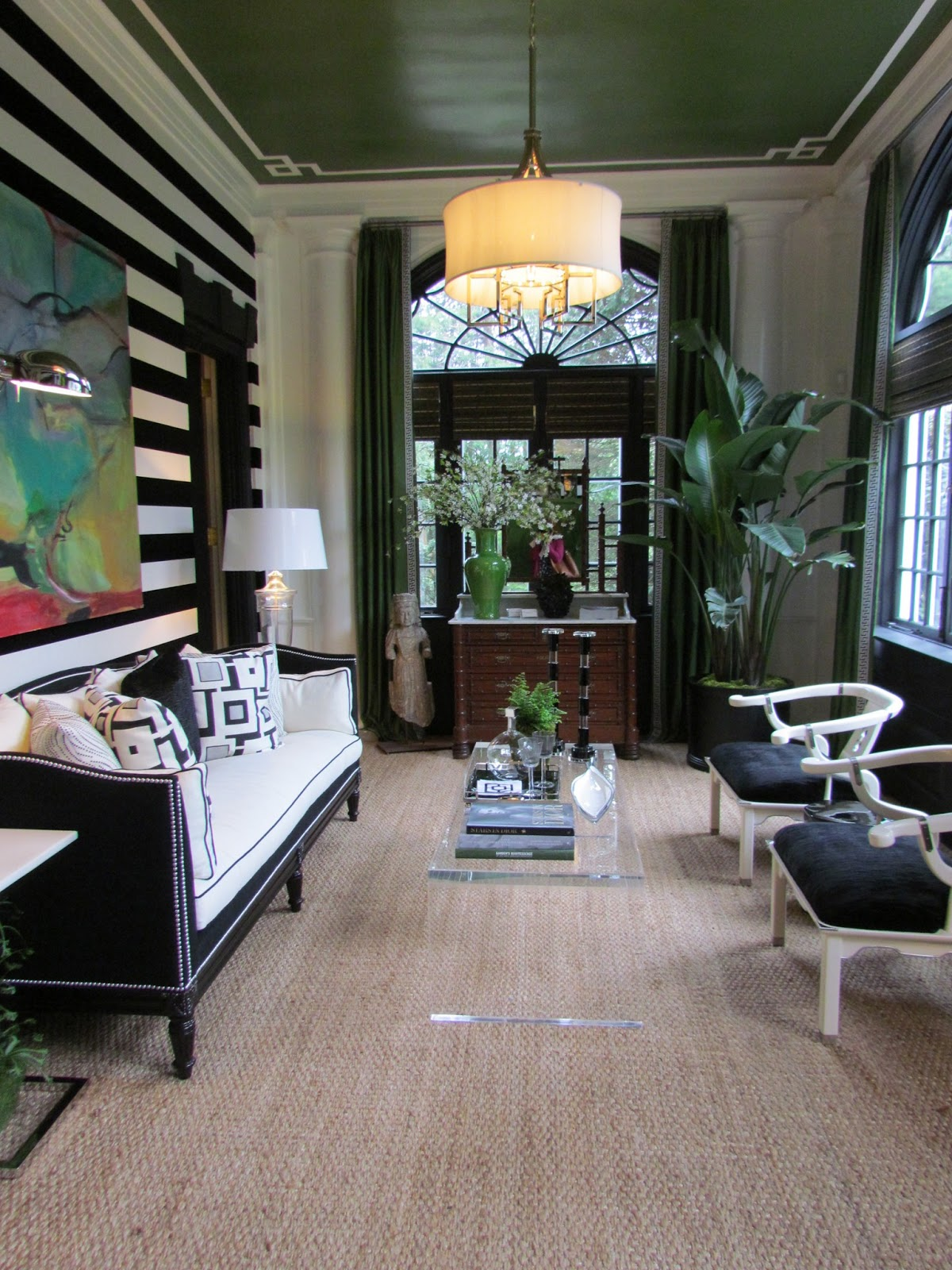 This green century furniture piece stands out as one that i always admire every time i visit the showroom in high point