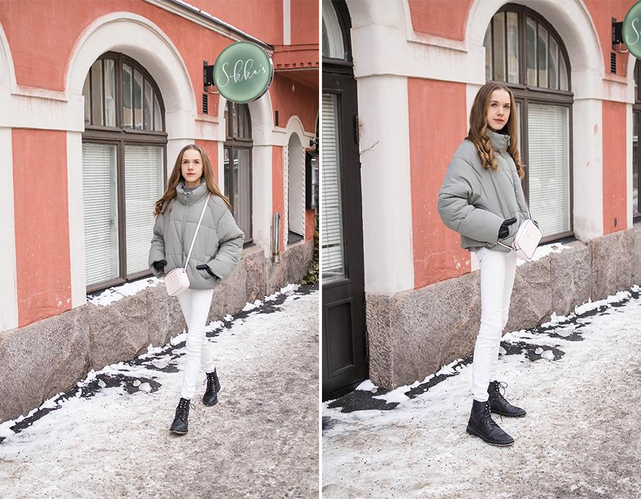 Asuinspiraatiota kevättalven välikausipukeutumiseen // Outfit inspiration for winter to spring transitional season