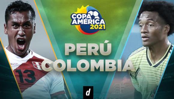 Perú vs. Colombia: por transmisión por Copa América 2021