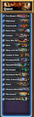 Quest Warrior (Un'Goro Standard): Hearthstone Decklist Guide 1