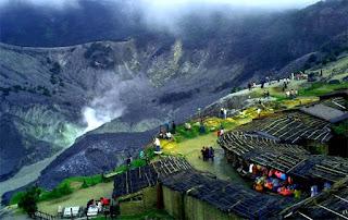 Gunung Tangkuban Perahu - Lembang Bandung