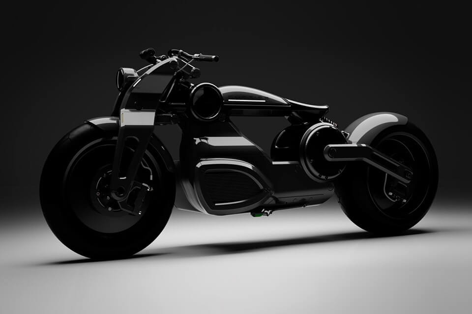 Zeus Bobber Motorsikal Elektrik