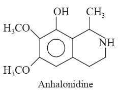 Anhalonidine