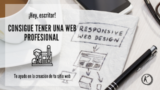 Servicio para tener una pagina web como escritor