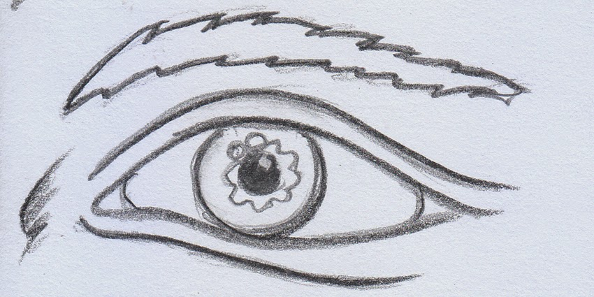 Cara Mudah Menggambar Mata Drawing Pencil Kreatif Berkarya