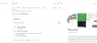 recursion-google-search-tricks
