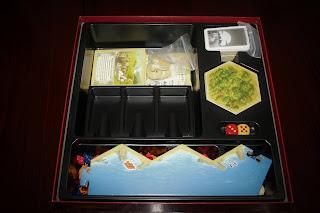 componentes del juego de mesa catan
