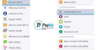 كيفية شراء البيتكوين و العملات الرقمية الأخري موقع Paybis