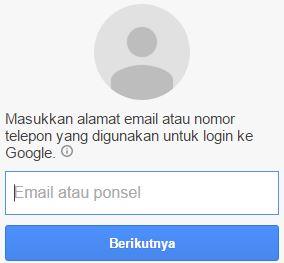 reset password gmail