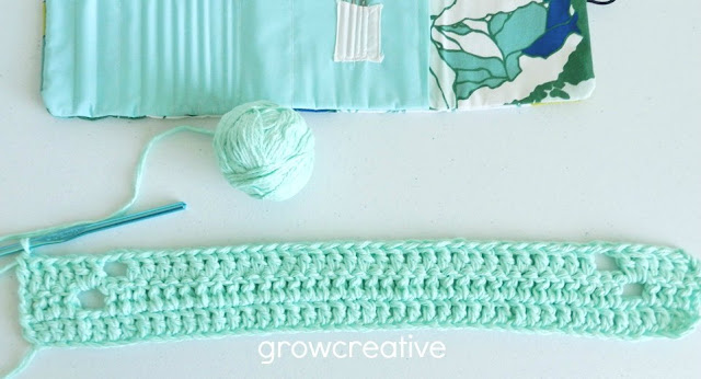 Mint Crochet Rug Tutorial and Pattern