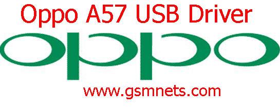 Oppo A57 USB Driver Setup